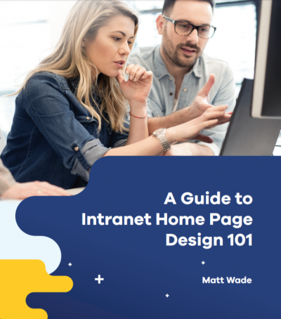 A guide to intranet Homepage design 101